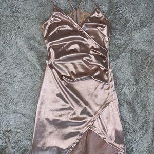 Fashion Nova Rose Pink Dress